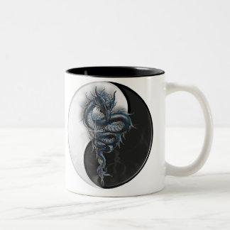 Yin Yang Chinese Dragon Mug