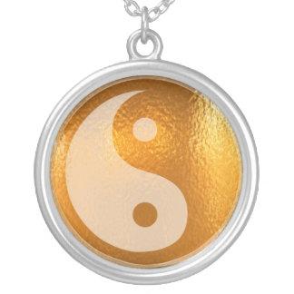 YIN YANG -  Chinese symbol of luck n balance Round Pendant Necklace