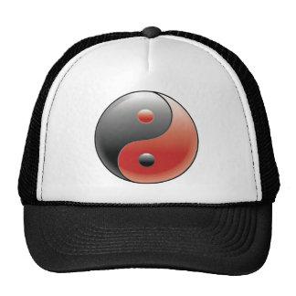 Yin Yang ~ Chinese Taoism Philosophy Mesh Hats