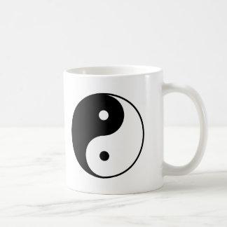 Yin Yang Classic White Coffee Mug
