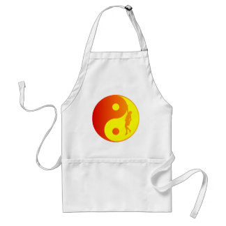 Yin & Yang Climber (Sunburst) Adult Apron
