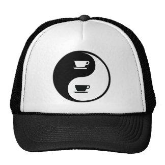Yin Yang Coffee Trucker Hat