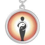 Yin Yang Pendiente Personalizado