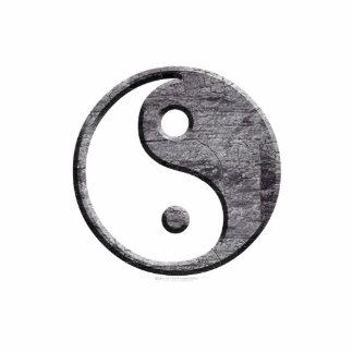 Yin Yang cortado Escultura Fotográfica