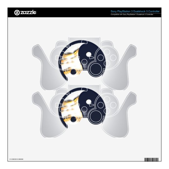 Yin Yang Cover PS3 Controller Skins