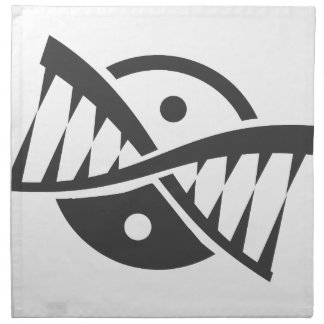 yin yang de la DNA Servilleta De Papel