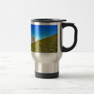 Yin Yang de la naturaleza Taza De Café