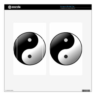 Yin Yang Decal For Kindle Fire