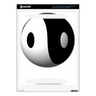 Yin Yang Decal For The Xbox 360