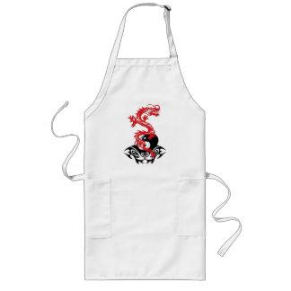 Yin yang del dragón 40 delantal
