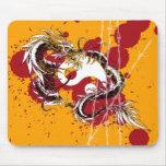 yin yang del dragón tapetes de ratones