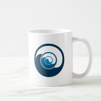 Yin Yang Design Coffee Mug
