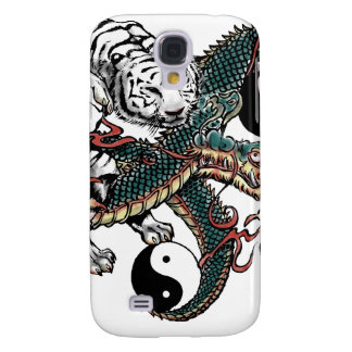 Yin Yang Design Galaxy S4 Cover