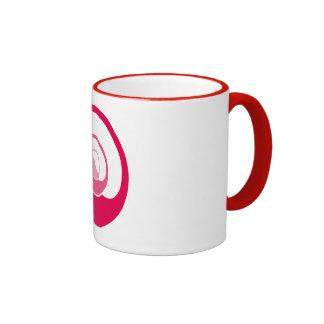 Yin Yang Design Ringer Mug