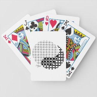 Yin Yang Design with a blended twist Bicycle Playing Cards