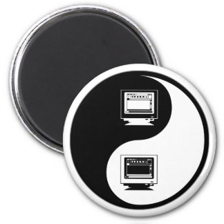 Yin Yang Desktop Publishing Fridge Magnets