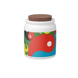 Yin Yang Dharma Candy Jar
