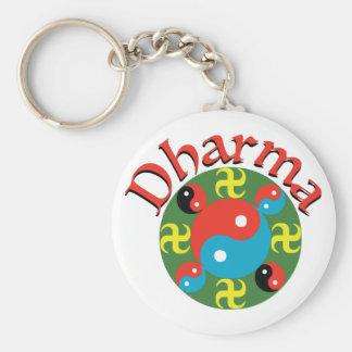 Yin Yang Dharma Keychain