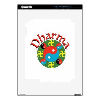 Yin Yang Dharma Skin For The iPad 2