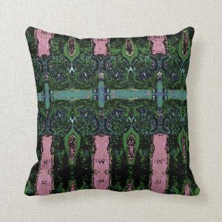 Yin Yang Dolls Throw Pillow