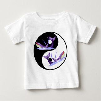 Yin Yang Dolphins Baby T-Shirt