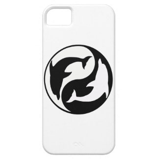 Yin Yang Dolphins iPhone 5G Case