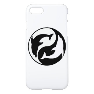 Yin Yang Dolphins iPhone 7 Case