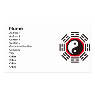 YIN & YANG Double-Sided STANDARD BUSINESS CARDS (Pack OF 100)