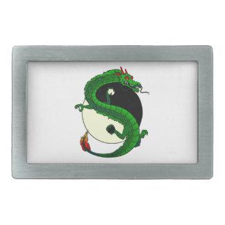 Yin Yang Dragon. Belt Buckles