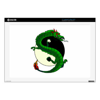 Yin Yang Dragon. Decals For Laptops