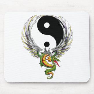 Yin Yang Dragon Gift Mouse Pads