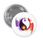 Yin Yang Dragon Pin