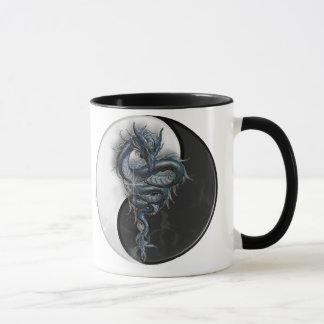 Yin Yang Dragon Ringer Mug