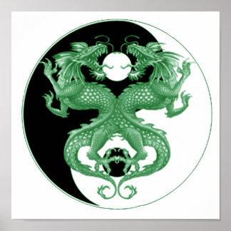 Yin Yang Dragons 4 Posters