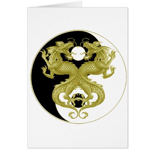 Yin Yang Dragons 5 Card