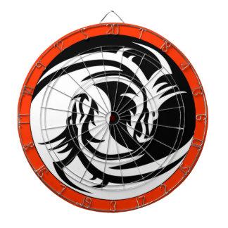 Yin Yang Dragons Dartboards