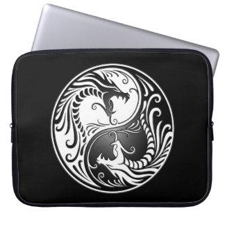 Yin Yang Dragons Laptop Sleeve