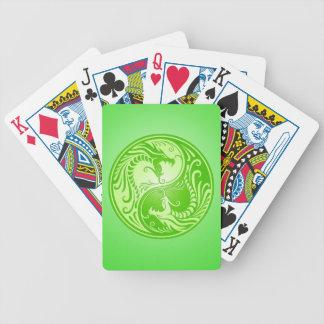 Yin Yang Dragons, light green Card Decks