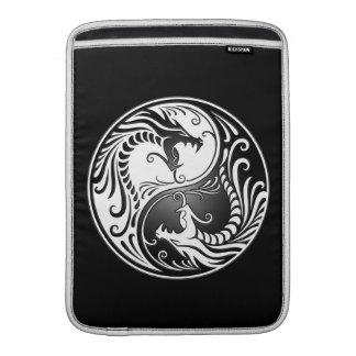Yin Yang Dragons MacBook Sleeves