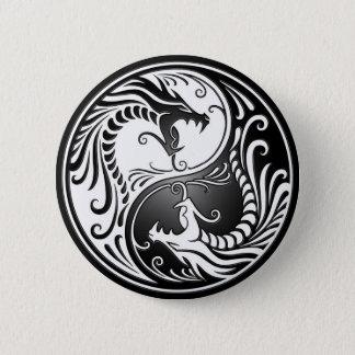 Yin Yang Dragons Pinback Button