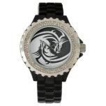 Yin Yang Dragons Relojes De Pulsera