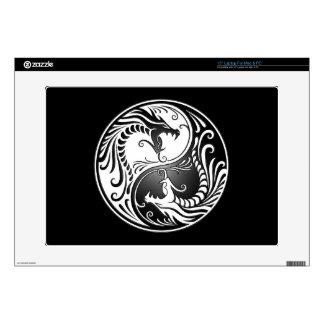 """Yin Yang Dragons Skin For 15"""" Laptop"""