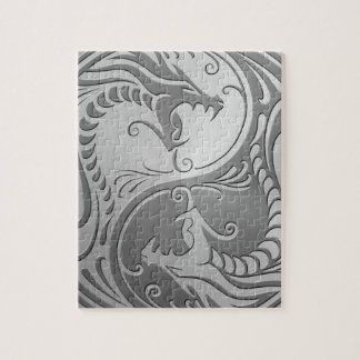 Yin Yang Dragons, stainless steel Puzzles