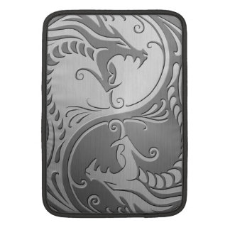 Yin Yang Dragons, stainless steel Sleeve For MacBook Air