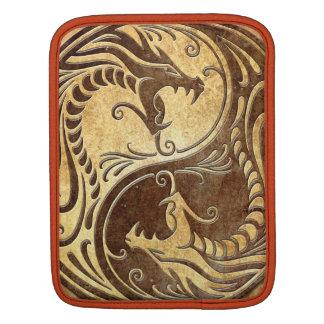 Yin Yang Dragons, stone iPad Sleeve