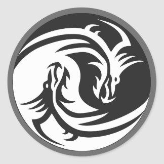 Yin Yang Dragons Tattoo Gifts on Zazzle