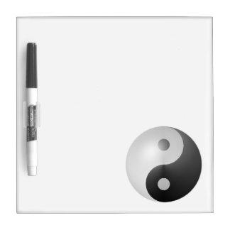Yin Yang Dry Erase Board