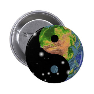 Yin Yang Earth Pin