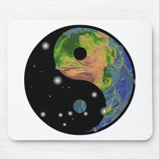 Yin Yang Earth Gift Mouse Pads