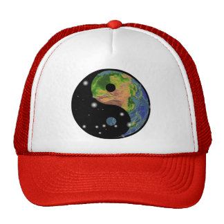 Yin Yang Earth Gift Trucker Hat